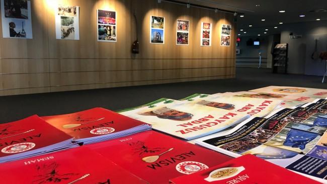 Avrupa Parlamentosu'nda Alevi Tanıtım Sergisi açıldı