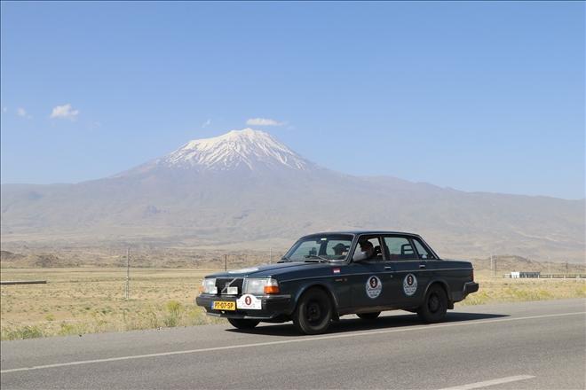 «Տրանսասիա-Մետաքսէ Ճանապարհ» մեքենաներու արշաւը անցաւ Արեւմտեան Հայաստանով