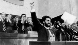 Armenia adopts Declaration of Independence 28 years ago today