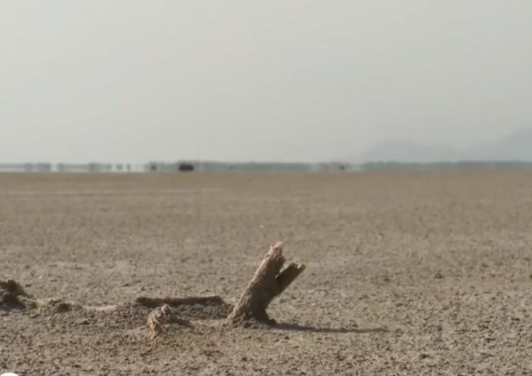 Western Armenia : le célèbre lac salé d'Ourmia en train de disparaître