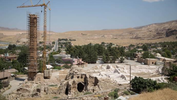 'Hasankeyf'te Nuh Tufanı ve Moğol istilası bir arada'.