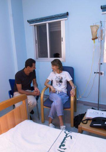 Asma Al-Assad diagnosed with breast cancer
