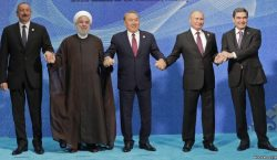 Five States Sign Convention On Caspian Legal Status
