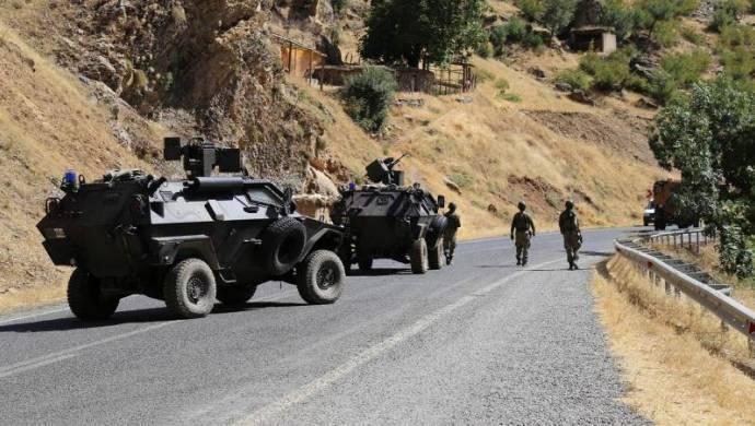Hakkari'de yine yasak bölge ilanı