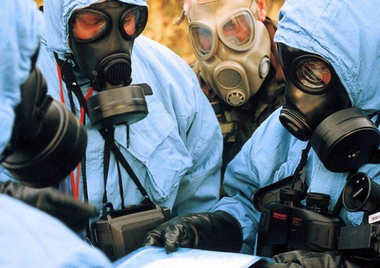 Համցանցում հրապարակվել է Սիրիայի Իդլիբ քաղաքում ՙՙՍպիտակ սաղավարտների՚՚ կազմակերպած «քիմիական հարձակման» բեմադրության տեսագրությունը: Այս մասին հաղորդում է SANA- ն: