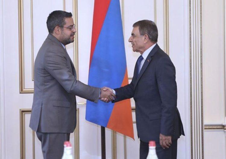 Армения готова принять участие в работах по восстановлению Сирии- спикер НС