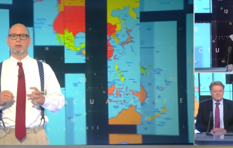 Harold Hyman décrypte le monde et l'actualité avec des cartes…