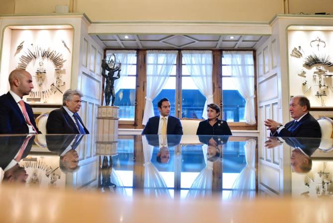Armen Sargsyan Ermenistan'ı yatırımcılar için çekici ülke yapmayı öncelikli sorun olarak görüyor