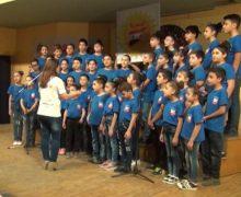 Участники детского песенного коллектива Генеральной Ассамблеи Армении провели концерт в сирийском городе Камышлы