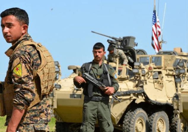 """Türkiye, Suriye'nin Manbic'deki Kürt mevzilerini bombalayarak  """"ABD'ye dostluk mesajı yolladı."""