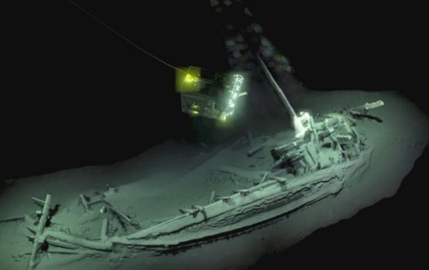 На дне Черного моря нашли греческий торговый корабль возрастом 2400 лет