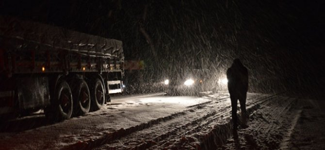 В городе Байазет Западной Армении выпал первый снег
