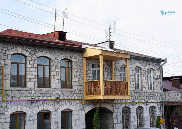 Проводиться реконструкция одной из самых старых улиц Степанакерта