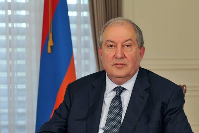 Президент Республики Армения Армен Саркисян отбыл с рабочим визитом в Соединенные Штаты Америки
