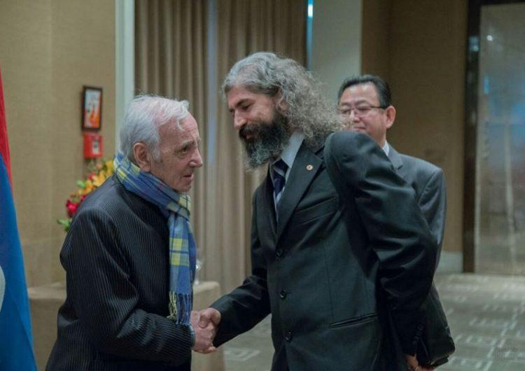 Aznavour,  le symbole de l'Arménie Occidentale
