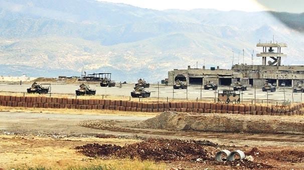 Irak-Türk sınırındaki Türk askeri üssü roketatar saldırısına uğradı