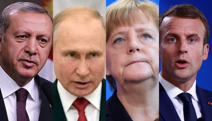 В Константинополе состоится четырехсторонняя встреча лидеров России, Турции, Германии и Франции по сирийскому урегулированию