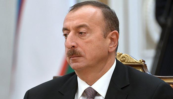 Aliyev'e göre Artsakh müzakerelere katılamaz