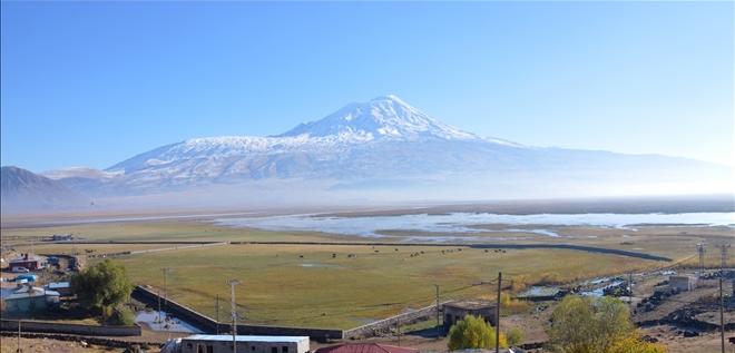 Արարատ լեռը ճերմակ հագեր է