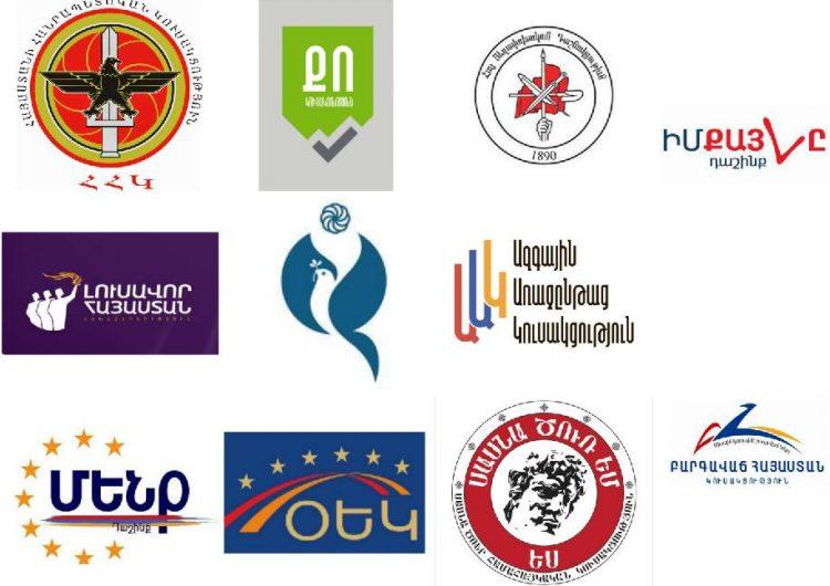 Ermenistan Cumhuriyetin'de Parlamento için seçim kampanyası başladı