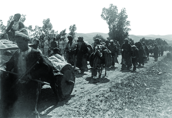 SCENE OF DEPORTATION OF ERZURUM ARMENIANS