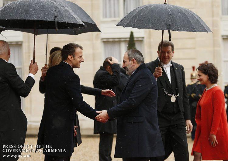 Նիկոլ Փաշինեանը Փարիզի մէջ մասնակցած է Առաջին աշխարհամարտին կնքուած զինադադարի 100-ամեակին նուիրուած արարողութեան