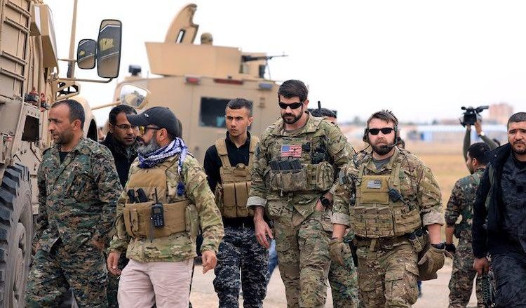 ԱՄՆ-ի ուժերը կը շարունակեն պարեկութիւնը Սուրիոյ հիւսիս-արեւելքին` ուղղուած Թիւրքիային