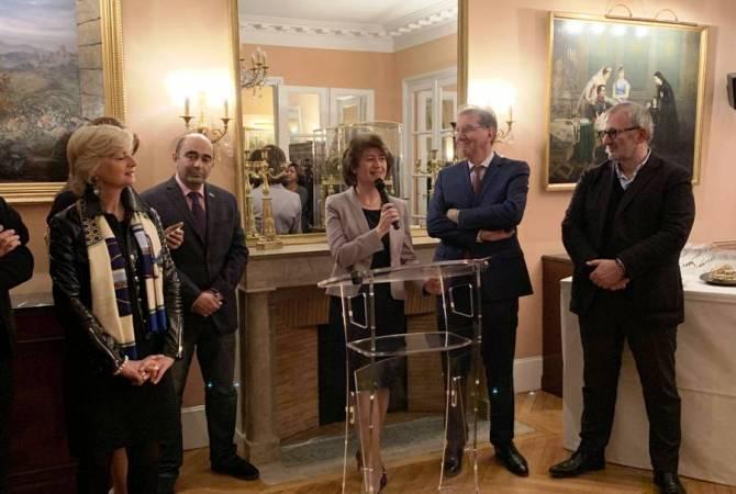 Ֆրանսայի մէջ ՀՀ դեսպանը մասնակցեր է Հայաստանի Հանրապետութենա եւ Արցախի գինիներուն նուիրուած միջոցառումներուն