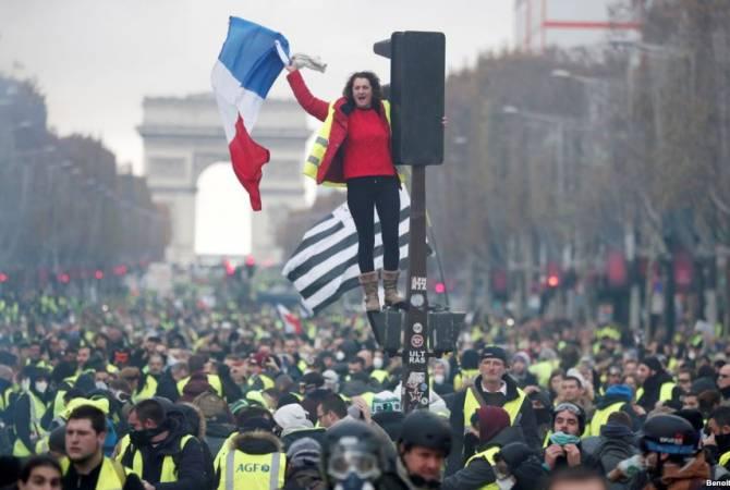 Ֆրանսայի իշխանութիւնները կոչ ըրած են ցուցարարներուն՝ հրաժարելու Դեկտեմբերի 15-ի բողոքի ցոյցերէն