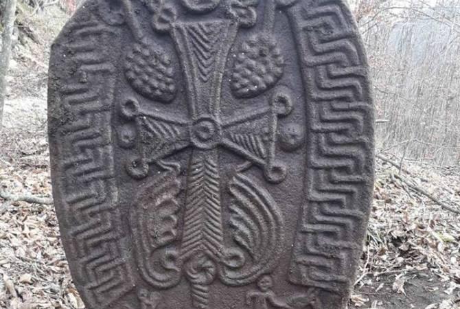 Ասկերանի շրջանին յայտնաբերուած է 12-էն 13-րդ դարերու խաչքար