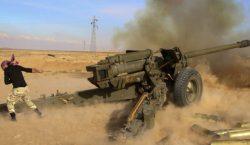Suriye'de İslam Devletinin Fırat kıyısındaki son dayanak noktasına saldırı başlatıldı