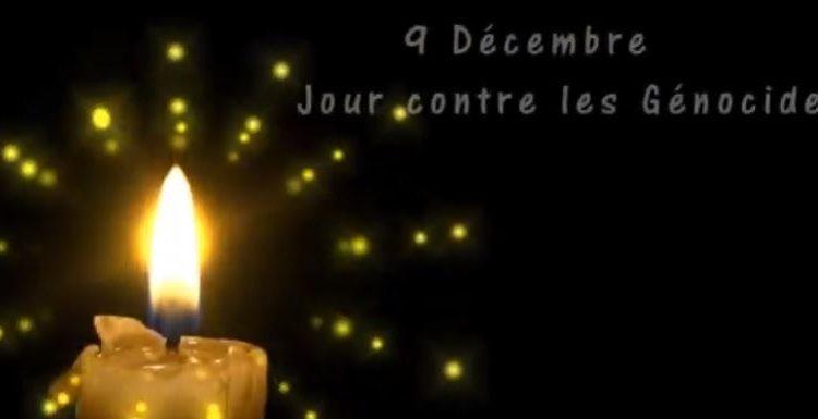 9 Décembre – Jour contre les Génocides