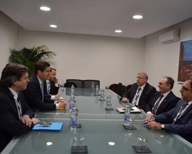 Զօհրապ Մնացականեանը հանդիպեր է ԱՄՆ-ի պետքարտուղարի տեղակալ Ուեսս Միթչելի հետ