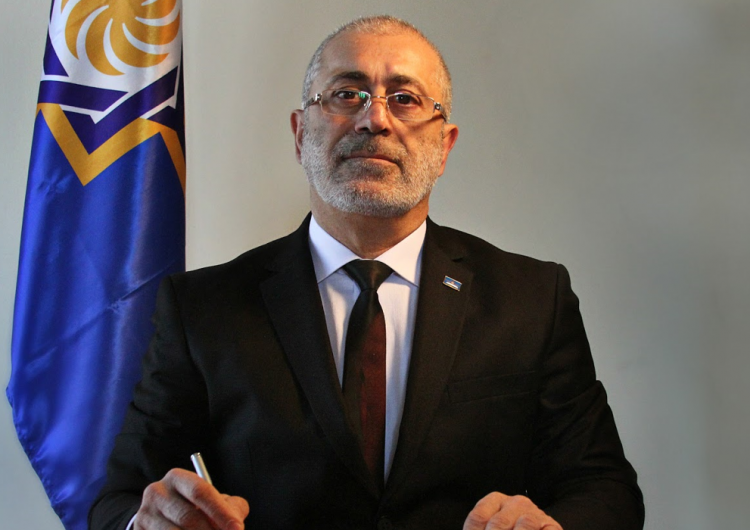 The State Television Company of Western Armenia represents the newly elected President of Western Armenia