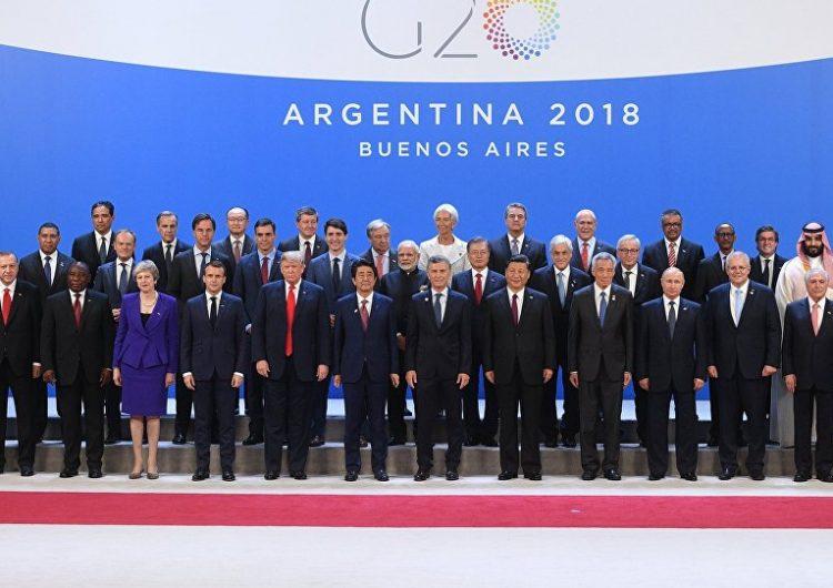 Բուէնոս Այրէսի մէջ մեկնարկեր է G20 գագաթնաժողովը