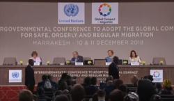 Le Pacte sur les migrations adopté par plus de 160 gouvernements à Marrakech
