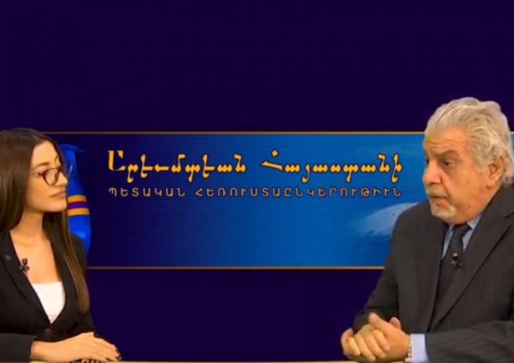 Հարցազրոյց ԱՀ վարչապետ Գառնիկ Սարգսեանի հետ