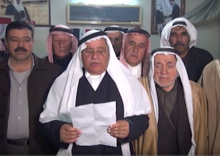 Հասակէի շրջանի արաբական ցեղերու առաջնորդները դէմ են Թիւրքիոյ պատնէշային գօտի ստեղծելուն
