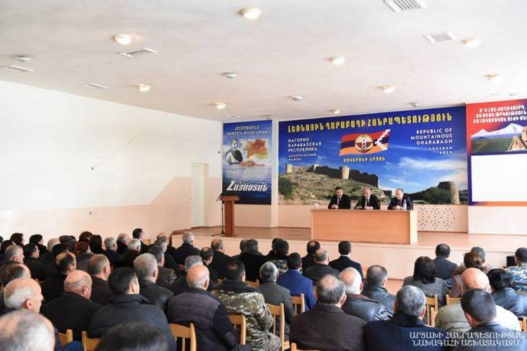 Յակոբ Ղահրամանեանը նշանակուեր է Ասկերանի շրջանի վարչակազմի ղեկավար
