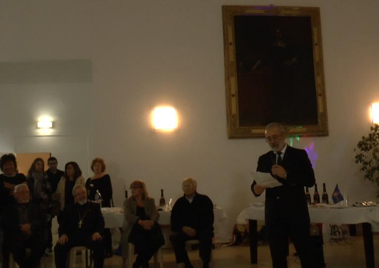 Арменак Абраамян присутствовал на церемонии в Мандело Ла Напули