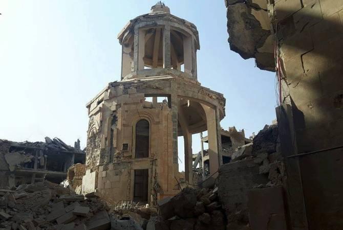 Բաշշար Ասադը խոստացեր է վերականգնել Դէյր Զօրի հայկական եկեղեցին