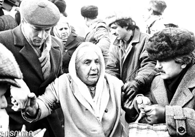 Բաքուի հայ բնակչութեան զանգուածային ջարդերէն 29 տարի անց
