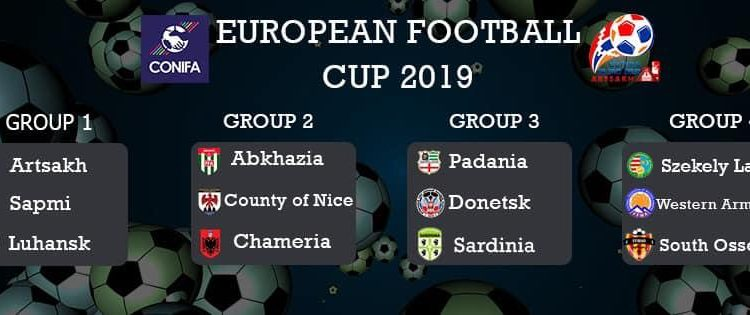 Сборная Западной Армении по футболу попала в группу Д