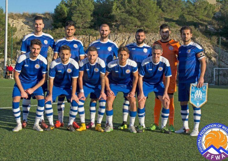 Կայացաւ Արեւմտեան Հայաստանի ֆուտբոլի հաւաքականի ընկերական հանդիպումը ֆրանսական «Թուլոն»-ին հետ