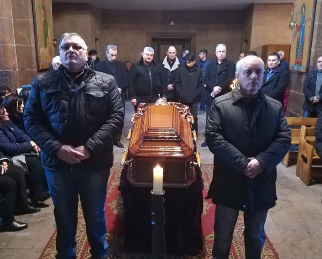 Took place the memorial service and funeral service of Varuzhan Karapetyan