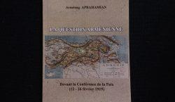 Вышла в свет книга президента РЗА Арменака Абрамяна Армянский вопрос перед мирной конференцией