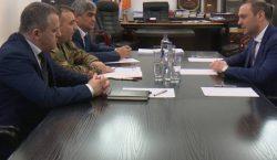 Министр обороны Республики Арцах принял секретаря Совета безопасности Армении