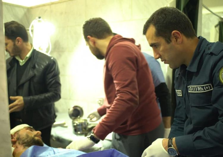 «Հայ բժիշկները Հալէպի մէջ կեանք կը փրկեն». Պաշտպանութեան Նախարարութեան խօսնակը լուսանկարներ հրապարակեր է