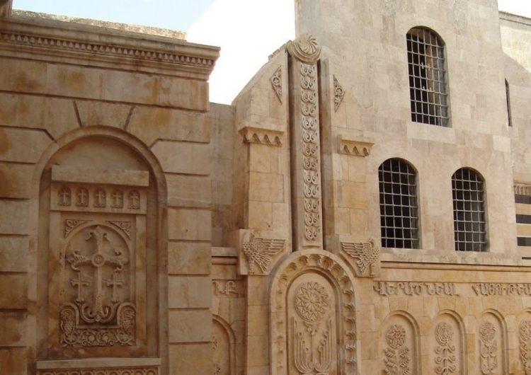 Հալէպի մէջ պայթեցուած հայկական եկեղեցին վերականգնուելէ ետք պիտի բացուի Գարնան