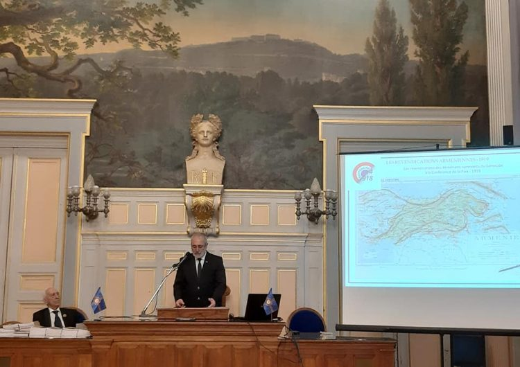 Centenaire de la Conférence de la Paix à Paris et du Mémorandum sur l'Arménie Occidentale